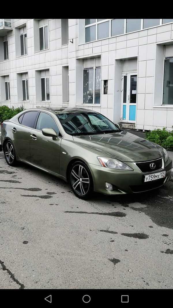Lexus IS250, 2007 год, 590 000 руб.