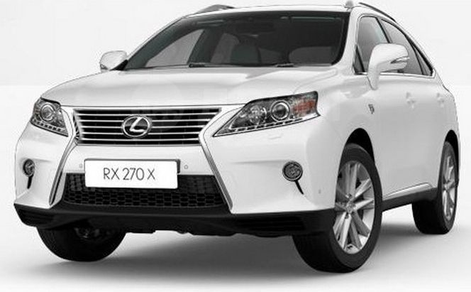 Lexus RX270, 2015 год, 2 000 000 руб.