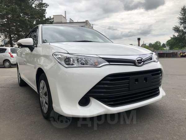 Toyota Corolla Fielder, 2016 год, 823 000 руб.