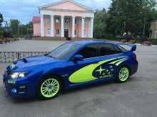 Москва Impreza WRX 2012