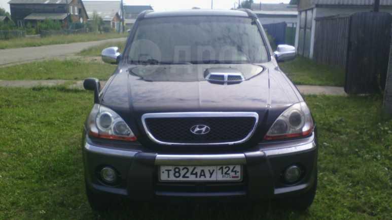 Hyundai Terracan, 2003 год, 490 000 руб.