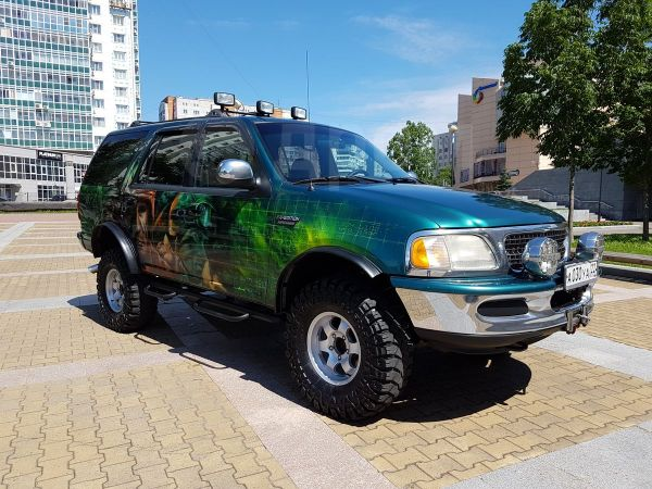 Ford Expedition, 1997 год, 635 000 руб.