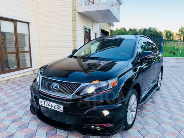 Lexus RX450h, 2009 год, 1 800 000 руб.