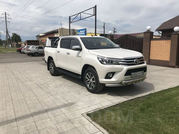 Toyota Hilux Pick Up, 2016 год, 2 220 000 руб.
