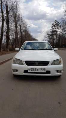 Toyota Altezza, 2002 г., Москва