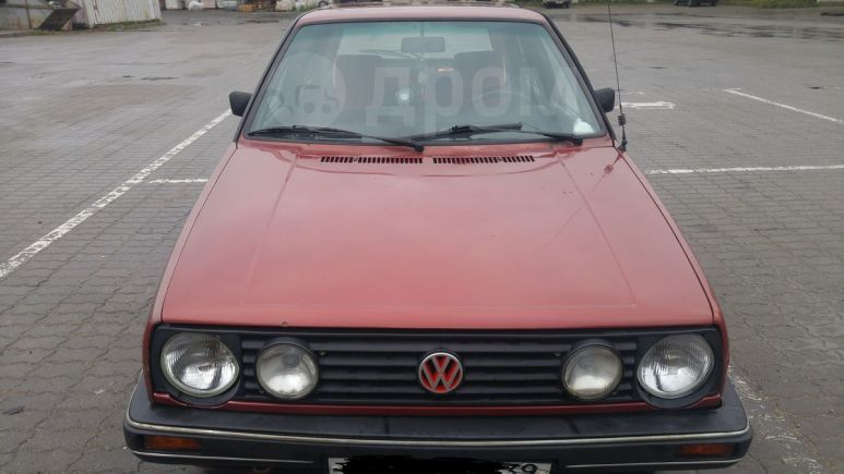 Volkswagen Golf, 1987 год, 55 000 руб.