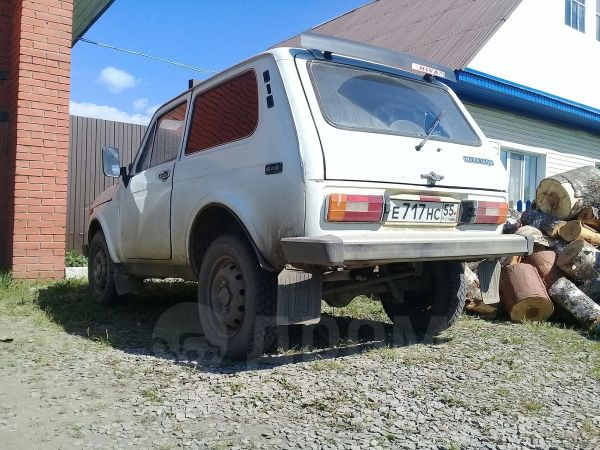Лада 4x4 2121 Нива, 1992 год, 63 000 руб.