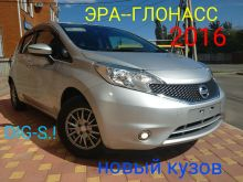 Nissan Note, 2016 г., Краснодар