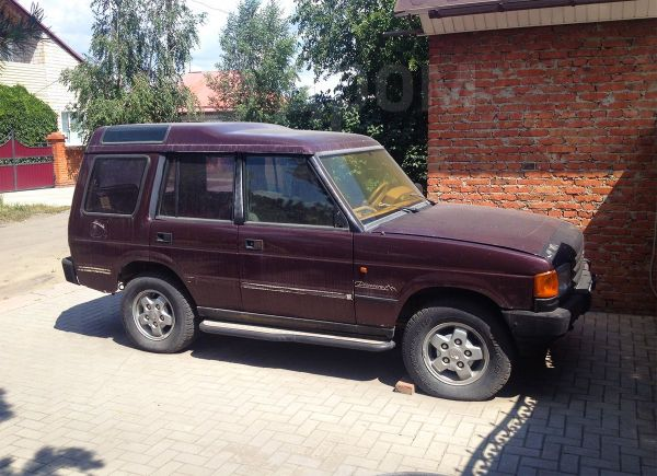Land Rover Discovery, 1993 год, 120 000 руб.