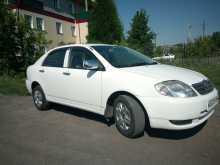 Toyota Corolla, 2001 г., Новосибирск