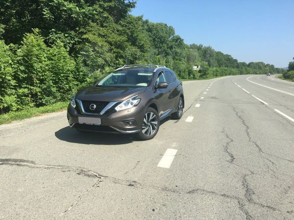 Nissan Murano, 2017 год, 2 355 000 руб.