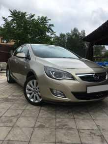 Тверь Opel Astra 2011