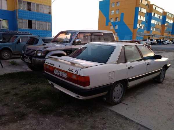 Audi 100, 1986 год, 40 000 руб.