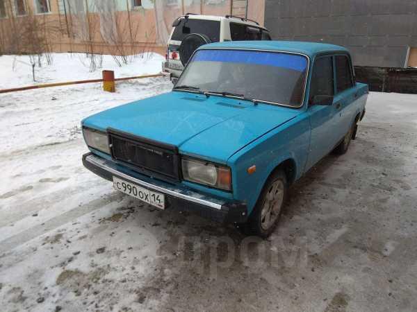 Лада 2107, 1991 год, 70 000 руб.