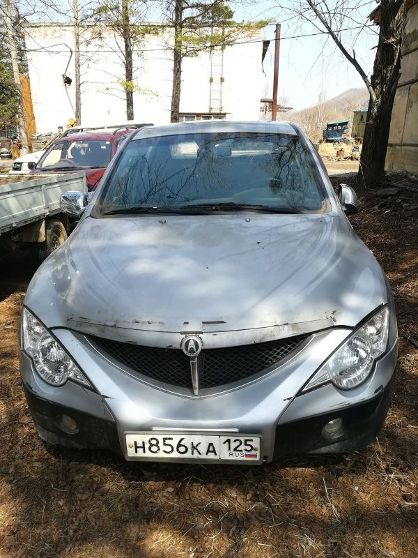 SsangYong Actyon Sports, 2007 год, 160 000 руб.