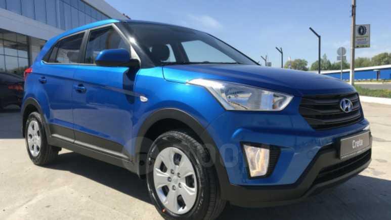 Hyundai Creta, 2018 год, 989 900 руб.