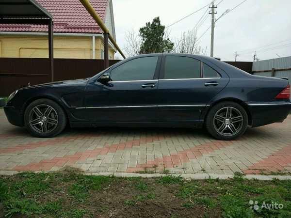 Mercedes-Benz S-Class, 2003 год, 350 000 руб.