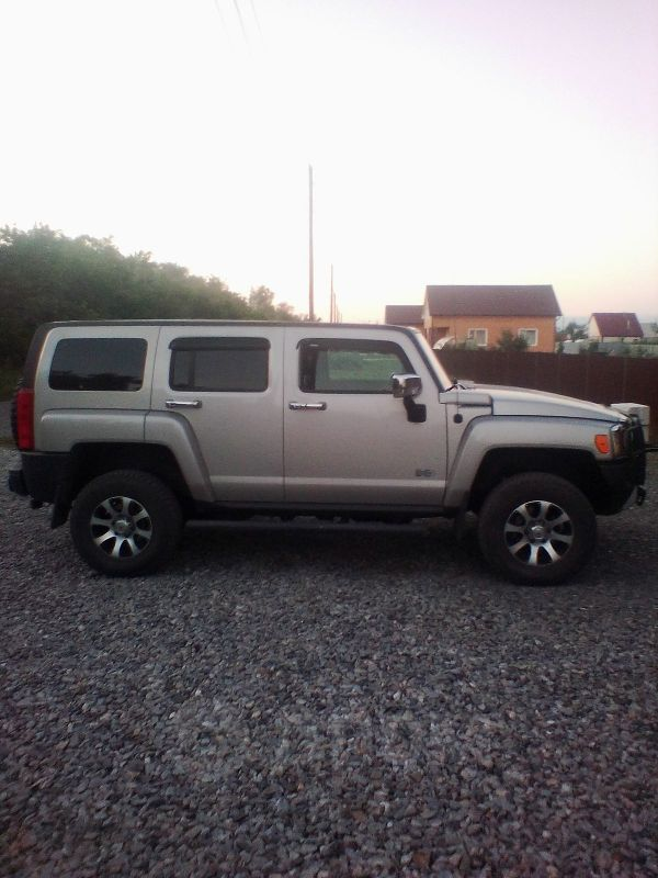 Hummer H3, 2008 год, 910 000 руб.