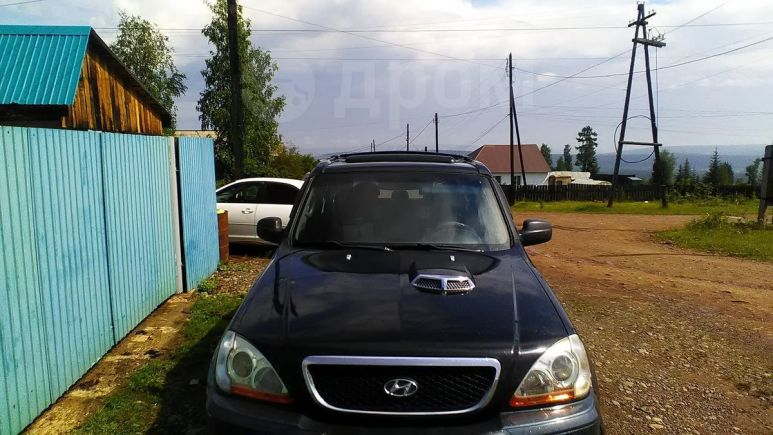 Hyundai Terracan, 2002 год, 430 000 руб.