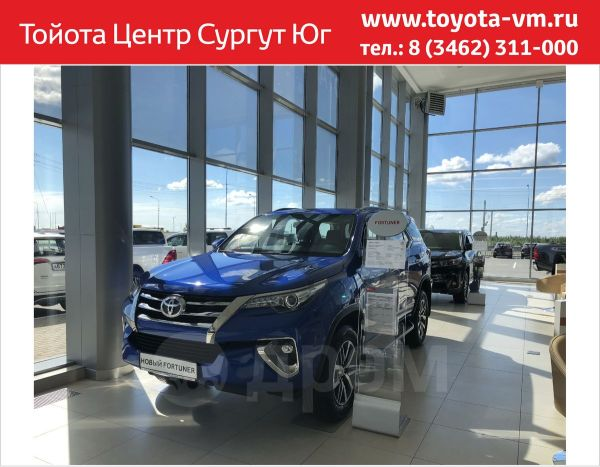 Toyota Fortuner, 2018 год, 2 962 000 руб.
