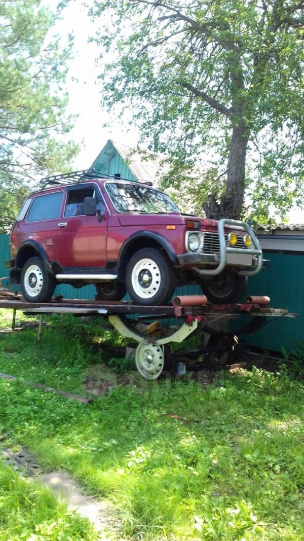 Лада 4x4 2121 Нива, 1992 год, 120 000 руб.
