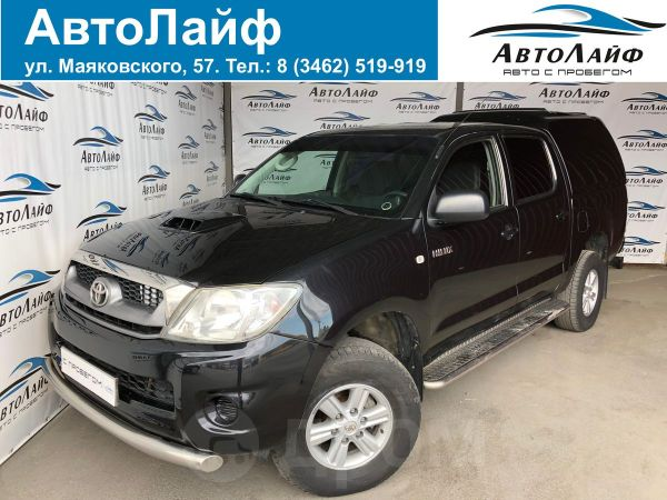 Toyota Hilux Pick Up, 2011 год, 1 035 000 руб.