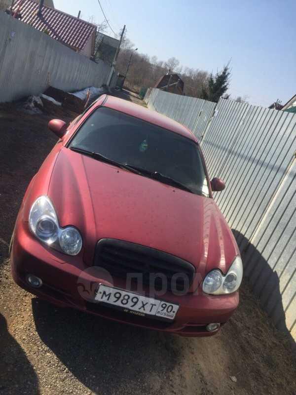 Hyundai Sonata, 2004 год, 120 000 руб.