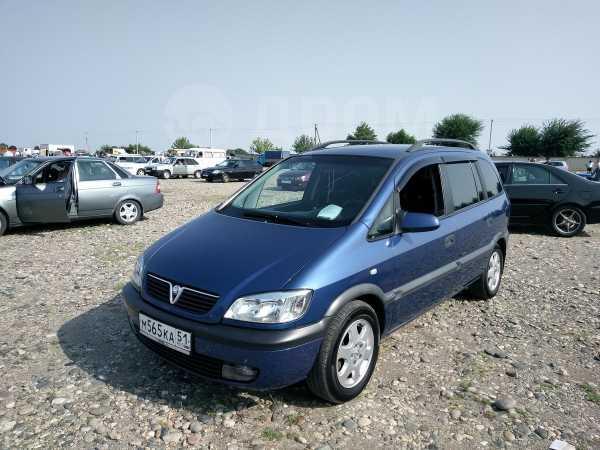 Opel Zafira, 2002 год, 360 000 руб.