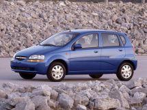 Chevrolet Aveo 1 поколение, 03.2002 - 02.2008, Хэтчбек 5 дв.