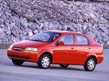 Chevrolet Aveo 1 поколение, 03.2002 - 02.2006, Седан