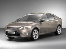 Ford Mondeo рестайлинг, 4 поколение, 09.2010 - 08.2014, Лифтбек