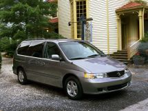 Honda Odyssey 1998, минивэн, 2 поколение, RL1