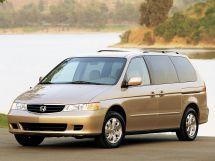 Honda Odyssey рестайлинг 2001, минивэн, 2 поколение, RL1