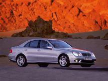 Mercedes-Benz E-Class 3 поколение, 01.2002 - 08.2006, Седан