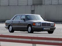 Mercedes-Benz S-Class рестайлинг 1985, седан, 2 поколение, W126