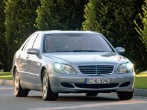 Mercedes-Benz S-Class рестайлинг 2002, седан, 4 поколение, W220