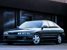 Mitsubishi Galant 1992, лифтбек, 7 поколение
