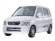 Mitsubishi Toppo BJ рестайлинг 2001, минивэн, 1 поколение