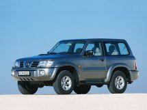 Nissan Patrol рестайлинг, 5 поколение, 10.2001 - 09.2004, Джип/SUV 3 дв.