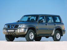 Nissan Patrol рестайлинг, 5 поколение, 10.2001 - 09.2004, Джип/SUV 5 дв.