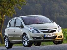 Opel Corsa 4 поколение, 05.2006 - 10.2010, Хэтчбек 5 дв.