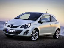 Opel Corsa рестайлинг, 4 поколение, 11.2010 - 07.2014, Хэтчбек 3 дв.