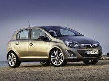 Opel Corsa рестайлинг, 4 поколение, 11.2010 - 07.2014, Хэтчбек 5 дв.