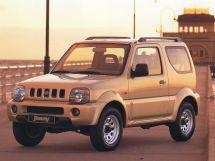 Suzuki Jimny 1998, джип/suv 3 дв., 3 поколение, JB43
