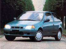 Suzuki Swift рестайлинг, 2 поколение, 03.1995 - 02.2000, Хэтчбек 3 дв.