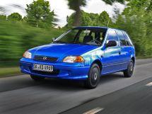 Suzuki Swift 2-й рестайлинг, 2 поколение, 03.2000 - 02.2004, Хэтчбек 5 дв.