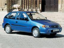 Suzuki Swift 2-й рестайлинг, 2 поколение, 03.2000 - 02.2004, Хэтчбек 3 дв.