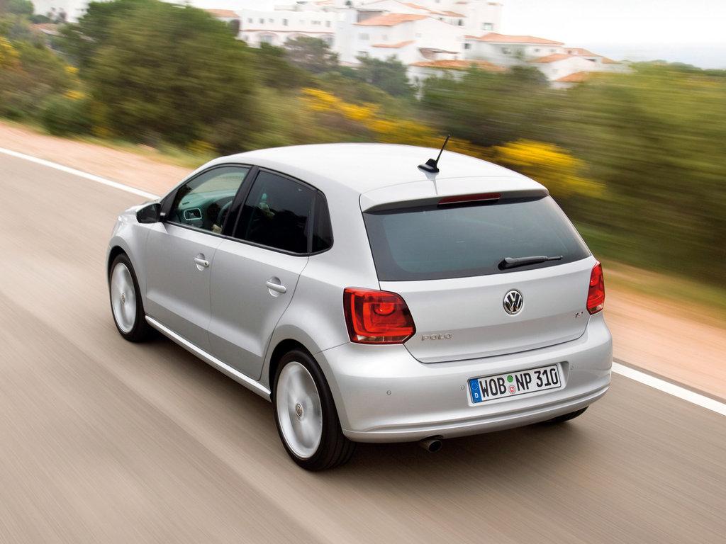 739749dead295 Volkswagen Polo 2008, 2009, 2010, 2011, 2012, хэтчбек, 5 поколение ...