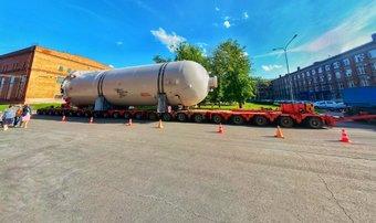 Автопоезд с адсорберами для газопровода «Северный поток-2» проедет по городу в ночь с 13 на 14 августа.