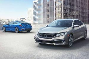 Honda модернизировала седан и купе Civic для североамериканского рынка
